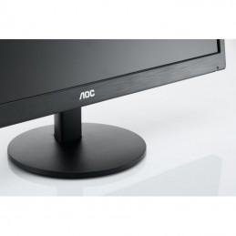 "AOC Monitor 21.5"" AOC E2270SWDN, FHD, TN, 16:9, WLED, 5 ms, 200 cd/m2, 90/65, 20M:1, VGA, DVI, VESA, , Black"