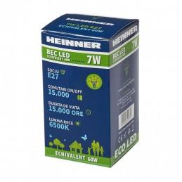 HEINNERBEC LED HEINNER 7W HLB-7WE2765K