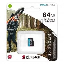 KINGSTONSD CARD KS 64GB CL10 UHS-I CANVAS GO PLS