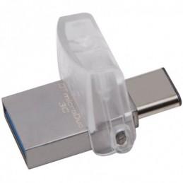 Kingston 128GB DT microDuo 3C, USB 3.0/3.1 + Type-C flash drive EAN: 740617262551